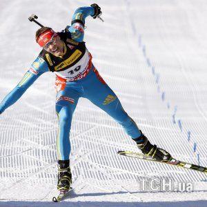 Збірна України з біатлону оголосила склад на першу гонку Олімпіади-2014
