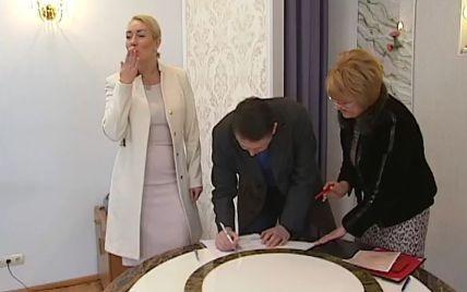 Мельниченко та Розинська одружилися у надто скромній обстановці