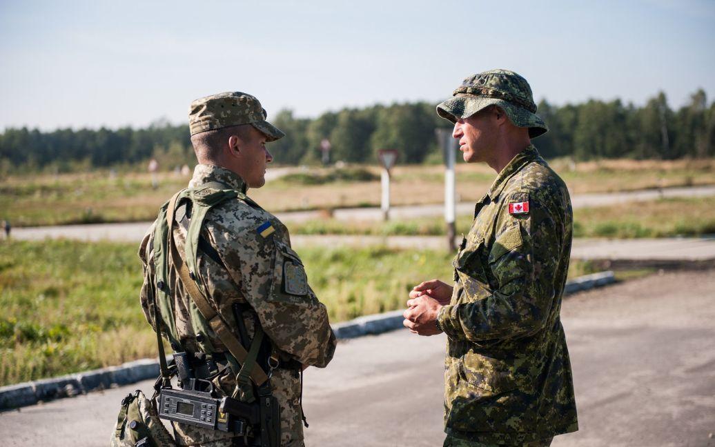 На Львовщине началась активная фаза многонациональных тактических учений Rapid Trident 2014 / © usarmyeurope
