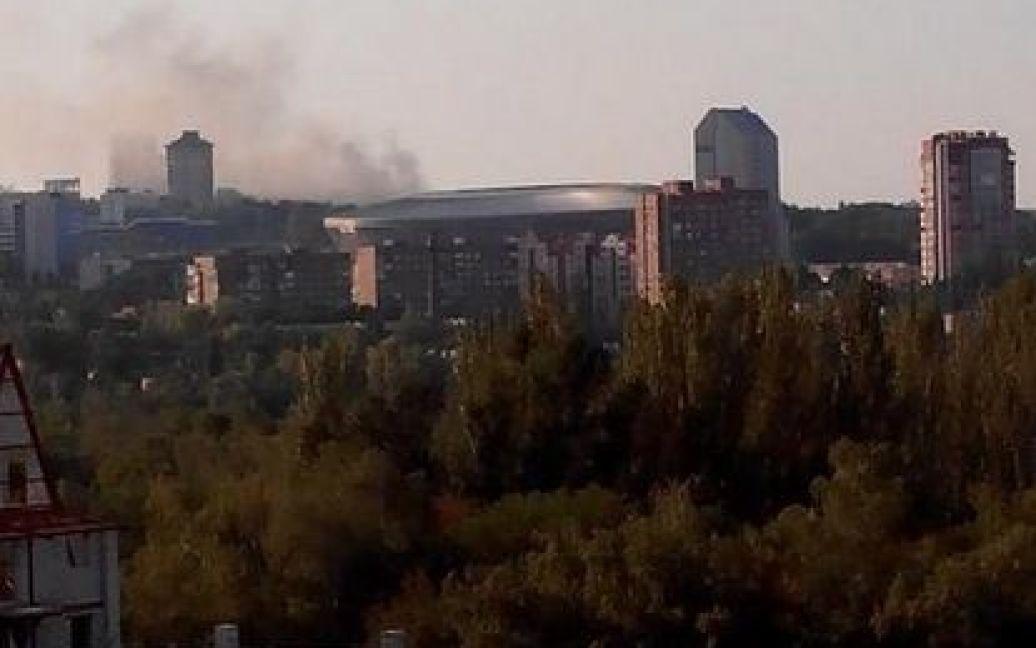 Террористы продолжают уничтожать Донецк / © @666_mancer
