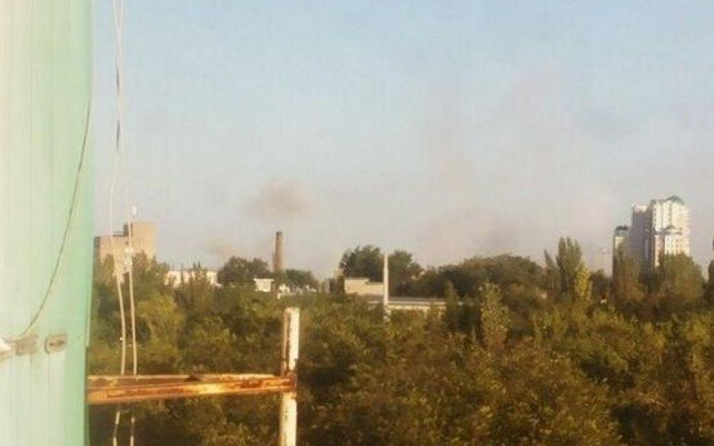 Террористы продолжают уничтожать Донецк / © twitter.com/blog_donbassa
