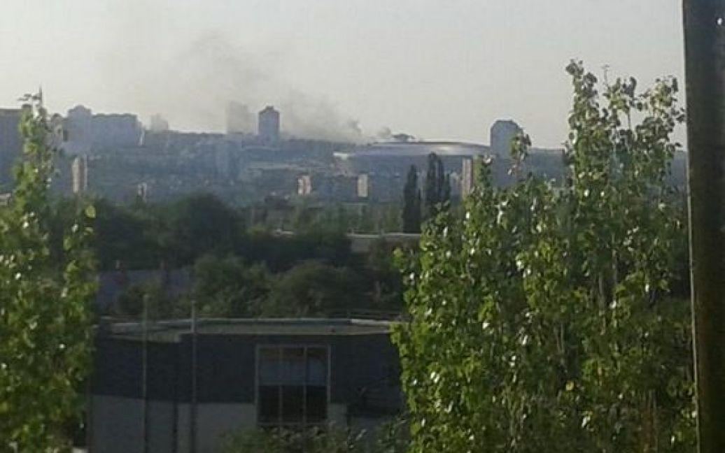 Террористы продолжают уничтожать Донецк / © twitter.com/donukr