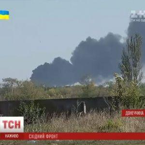 Донецький аеропорт не горить, але потерпає від обстрілів щопівгодини