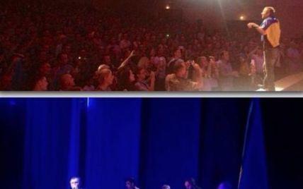 """Музиканти """"Океану Ельзи"""" опублікували зворушливе відео концерту для бійців 79-ї бригади"""