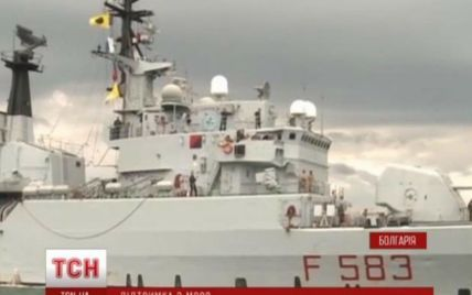 К берегам Болгарии стягиваются корабли НАТО