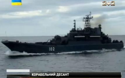 Россия нагнала в Черное море флотилию, как во время захвата Крыма