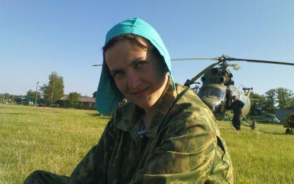 Льотчиця Савченко розповіла, як її з мішком на голові вивезли на територію Росії