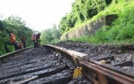 На Донетчине во время проезда грузового поезда взорвали железную дорогу