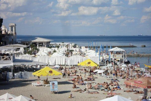 Пляж Аркадия. / © Фото из соцсетей