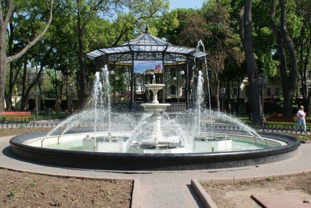 Фонтан в городском парке. / © Фото из соцсетей