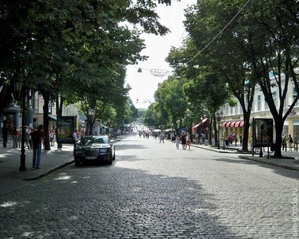 Улица Дерибасовская. / © Фото из соцсетей