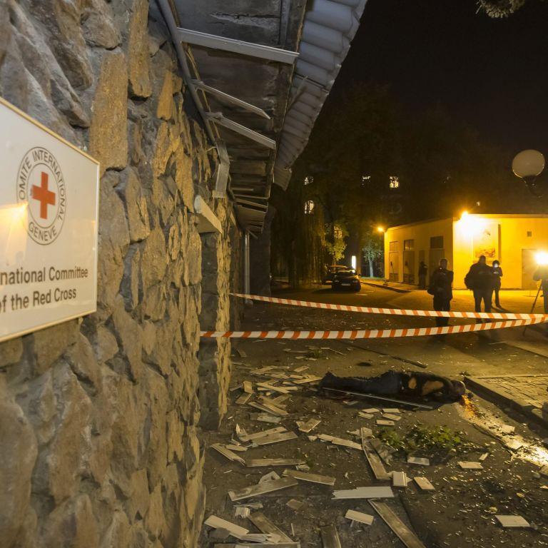 МВС оприлюднило аудіозапис розмов бойовиків про вбивство співробітника Червоного Хреста