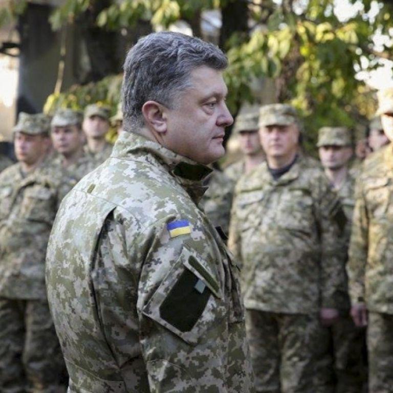 Порошенко зарахував українську армію до п'яти найсильніших на континенті