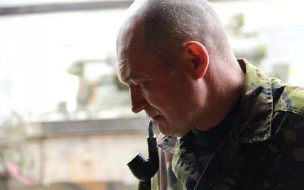"""Перед смертю танкіст """"кіборгів"""" Іванович планував забрати екіпаж розбитого танка / © mena.org.ua"""