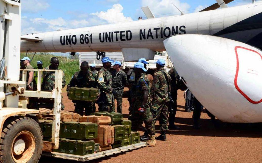 Минбороны показало украинских миротворцев в Конго / © facebook.com/theministryofdefence.ua