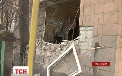 """Луганські бойовики накрили """"Градами"""" Світличне: снаряд влучив у житловий будинок"""