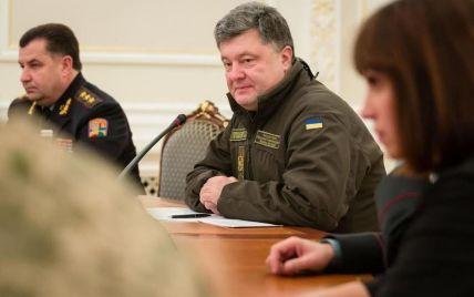 """Порошенко розповів, чому """"кіборги"""" відкрили вогонь у Донецькому аеропорту"""