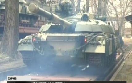 Нацгвардейцы на Востоке получили модернизированные танки