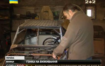 Автогонщик превратил спорткар в облегченную боевую пулеметную машину