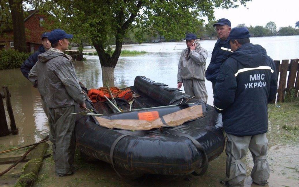 Львовщину уже четвертый день заливают сильные дожди / © zik.ua