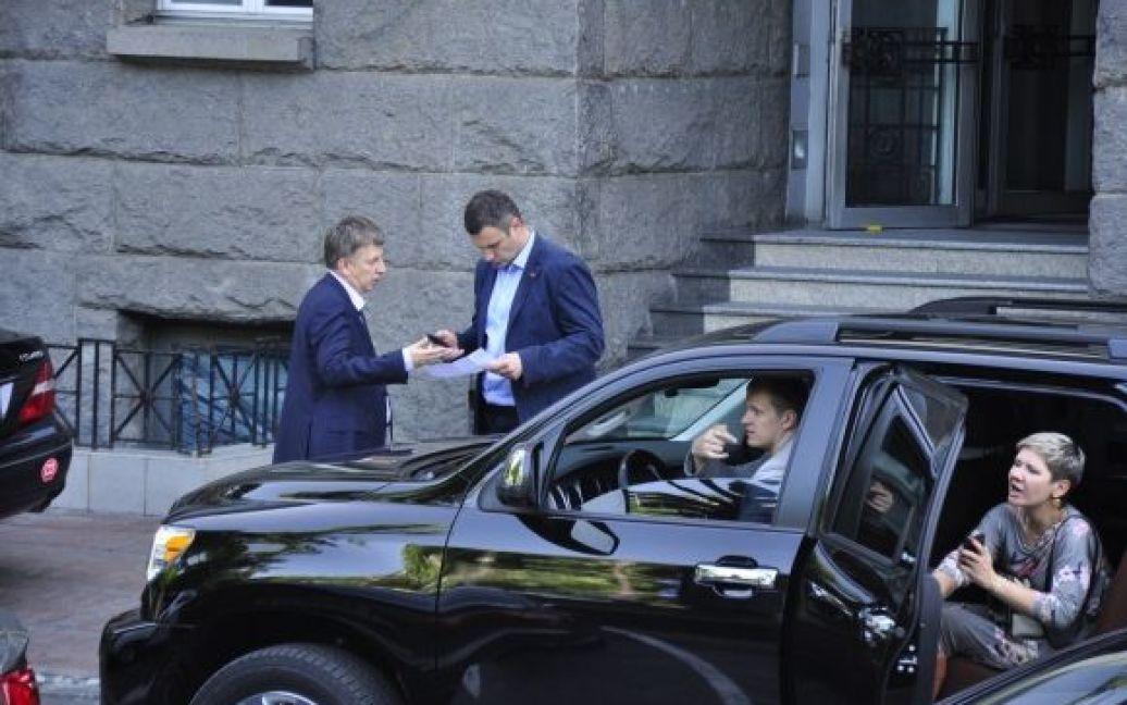 Кличко пригласил на вечеринку Макеенко / © Изым Каумбаев