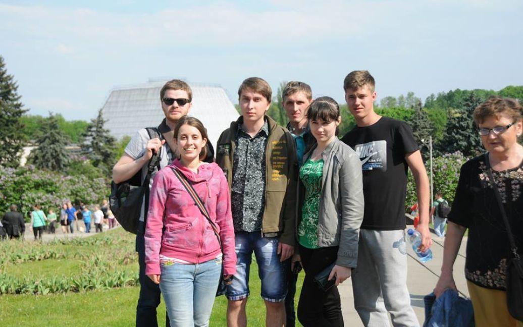 Студенты из Донецкой области провели майские праздники в Киеве и Львове / ©