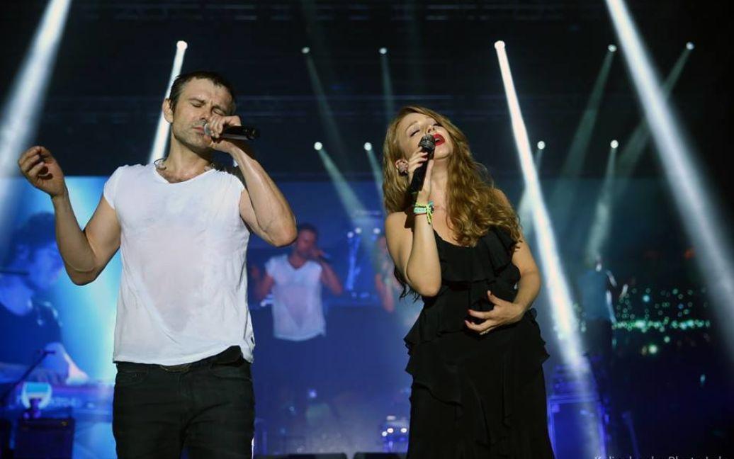 Певица Тина Кароль и легендарный Святослав Вакарчук снова слились в дуэте / © facebook.com/aleksandrkalinchenko