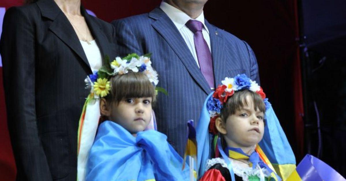 Родина Порошенків. / © УНІАН