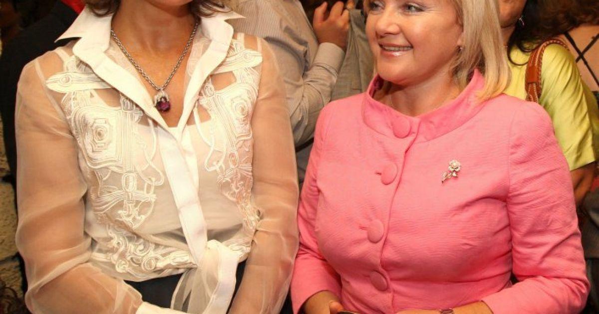 Марина Порошенко з Оксаною Білозір. / © УНІАН