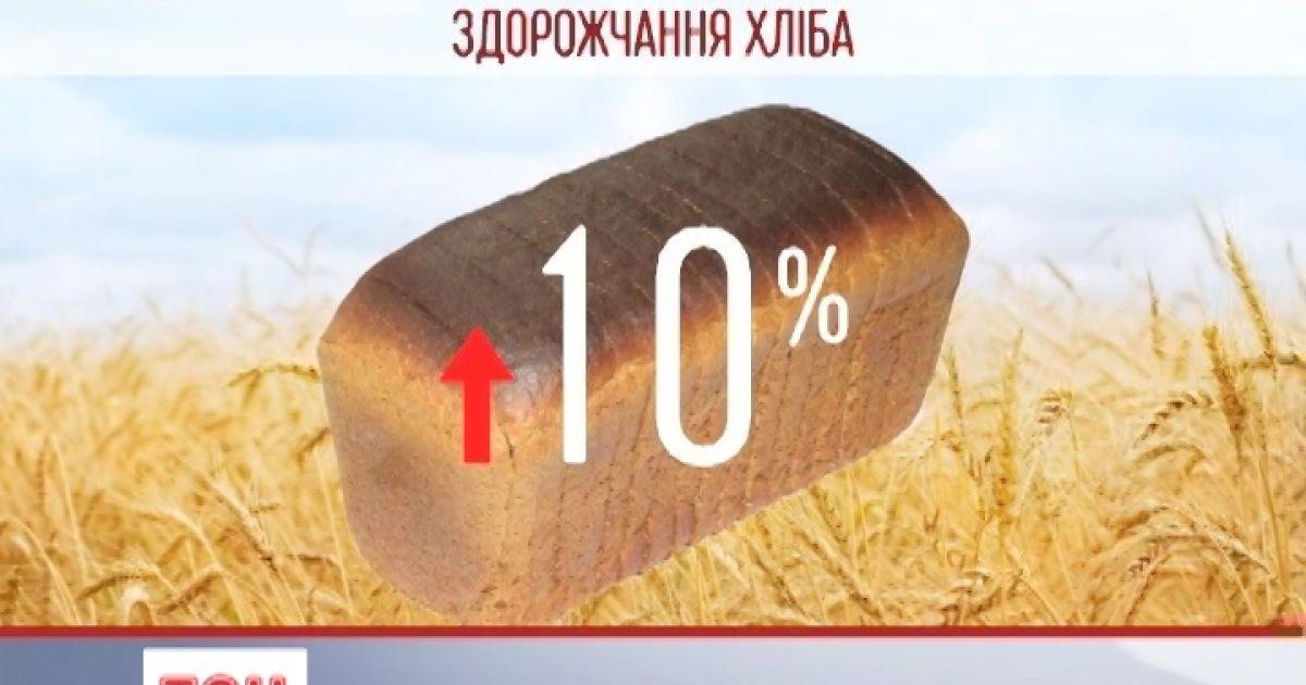 В Україні здорожчає хліб