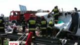 В Польше разбился украинский микроавтобус