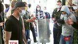 Неизвестные в камуфляже захватили киевский админсуд