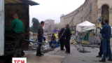 На Майдане Независимости меняют сцену