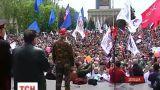 На Востоке Украины прошли многочисленные митинги ко Дню победы