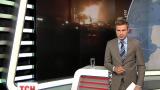 Рядом с городом Роттердам в Нидерландах горит химический завод