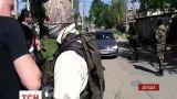Вооруженные люди пытались захватить помещение штаба Нацгвардии в Донецке
