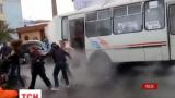 В российском Красноярске коммунальный транспорт облило кипятком.