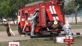 На Николаевщине пожарные провели учения