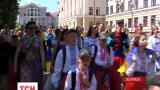 Марш вышиванок прошел в Запорожье