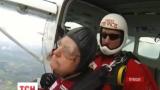 Десантник времен Второй мировой повторил прыжок с парашютом в 89 лет