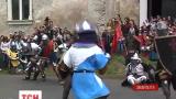 На Закарпатье прошел настоящий рыцарский турнир