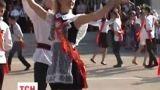 В Севастополе выпускники гимназии пришли в вышиванках