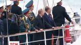 Путин после парада на Красной Площади поехал в Севастополь