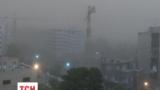 Мощная песчаная буря накрыла столицу Ирана