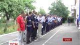 В Черкассах матери милиционеров пикетировали здание МВД