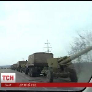 Сепаратисты заблокировали колонну военных под Донецком