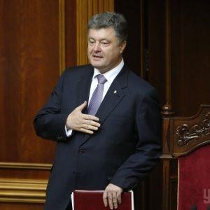 """Порошенко привітав військових із перемогою на пункті пропуску """"Довжанський"""" на кордоні з РФ"""