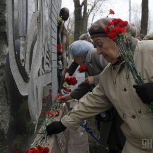 У Бабиному Яру вшанували пам'ять жертв нацизму