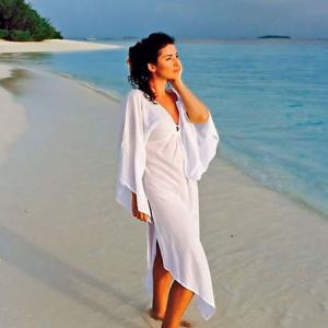 Жасмин с мужем и дочкой пережили страшный ураган на Мальдивах