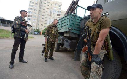 Силовики уничтожили лагерь террористов возле Северодонецка